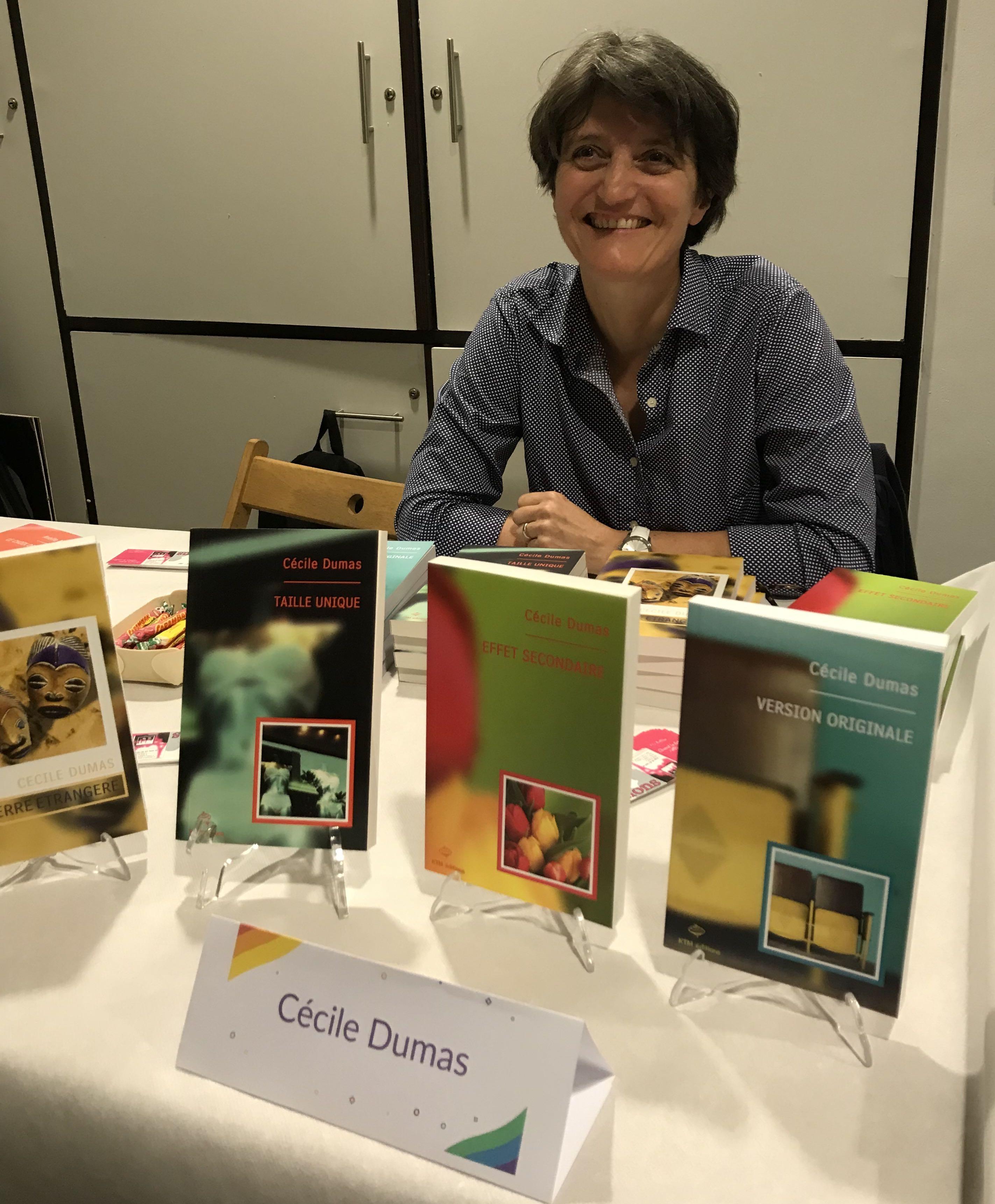 Cécile Dumas aux rencontres du livre lesbien 2019