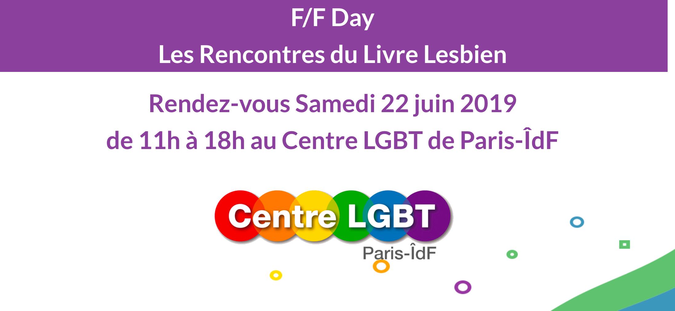 F/F day - Rencontres du livre lesbien de Paris