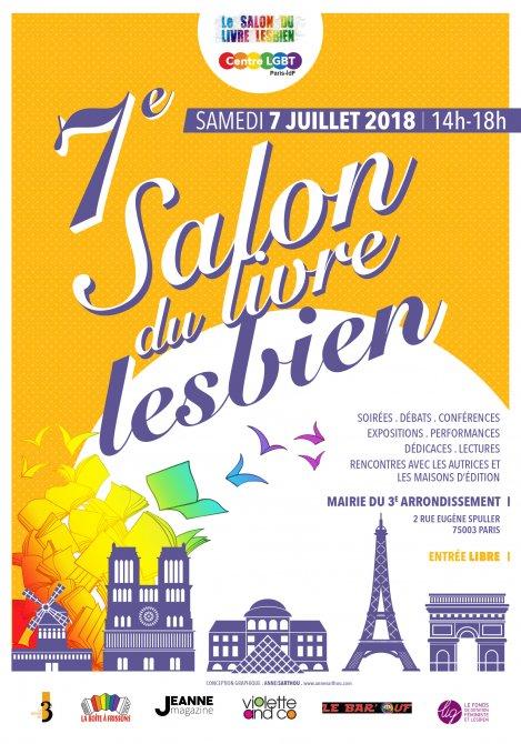 salon du livre lesbien 2018