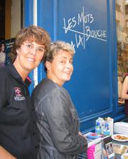 Veronique Breger et Axelle Mallet
